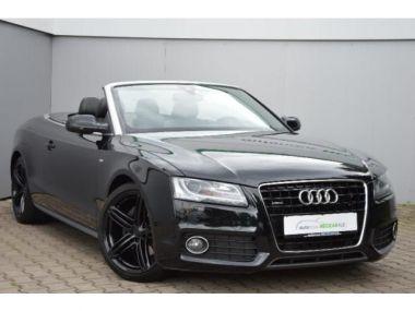 NOUVEAU +++ Audi Voiture d'occasion: Audi A5 Cabriolet 3.0 TDI quattro S-Line *Scheck für 21900 € +++ Les meilleures offres | Cabriolet/Décapotable, 185000 km, 2011, Diesel, 239 CV, Noir | 137632206 | auto.de