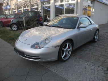 NOUVEAU +++ Porsche Voiture d'occasion: Porsche 911 Carrera 4 Cabriolet*Hardtop*SHG*TOP* für 23980 € +++ Les meilleures offres | Cabriolet/Décapotable, 114268 km, 2000, Essence, 300 CV, Argent | 133086196 | auto.de