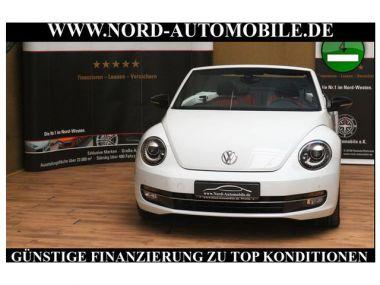 NOUVEAU +++ VW Voiture d'occasion: VW New Beetle Cabrio Beetle Cabrio 1.4 TSI Sport DSG*Leder*Na für 23800 € +++ Les meilleures offres | Cabriolet/Décapotable, 6657 km, 2014, Essence, 160 CV, Blanc | 135114725 | auto.de
