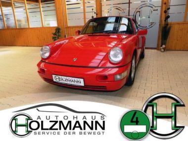 NOUVEAU +++ Porsche Voiture d'occasion: Porsche andere 911 964 3.6 Carrera C2 Schalter/Klima/SS für 54964 € +++ Les meilleures offres | Coupé, 96000 km, 1990, Essence, 250 CV, Rouge | 136980383 | auto.de
