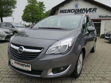 NOUVEAU +++ Opel Voiture d'occasion: Opel Meriva B Selection Navi- Klimaaut.-Alu.- PDC V+ für 13990 € +++ Les meilleures offres | Autres, 15529 km, 2015, Essence, 120 CV, Gris | 135114256 | auto.de