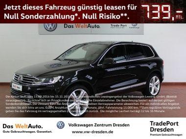 NOUVEAU +++ VW Voiture d'occasion: VW Touareg SONDERLEASING 599 ? für 61750 € +++ Les meilleures offres   4x4, 10377 km, 2015, Diesel, 340 CV, Noir   136763478   auto.de