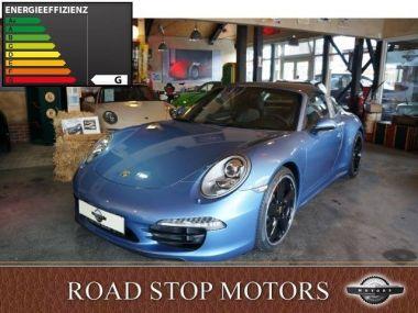 NOUVEAU +++ Porsche Voiture d'occasion: Porsche 911 991 Targa 4S Italia für 239800 € +++ Les meilleures offres | Cabriolet/Décapotable, 430 km, 2016, Essence, 400 CV, Bleu | 135217436 | auto.de