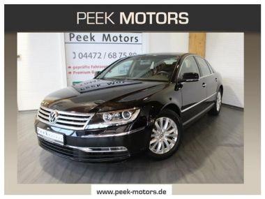 NOUVEAU +++ VW Voiture d'occasion: VW Phaeton 3.0V6 TDI 4MOTION ESD Leder RNS810 Sihzg für 24890 € +++ Les meilleures offres   Berline, 64200 km, 2012, Diesel, 239 CV, Noir   136771674   auto.de