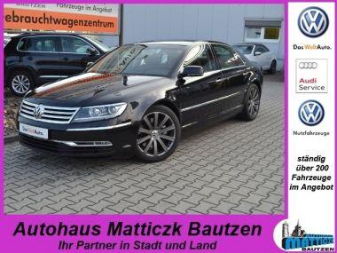 NOUVEAU +++ VW Voiture d'occasion: VW Phaeton 3.0 V6 TDI 4Motion VOLL/LUFT/5-SITZER/XE für 26790 € +++ Les meilleures offres | Berline, 65174 km, 2011, Diesel, 239 CV, Noir | 135836680 | auto.de