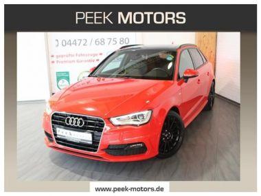 NOUVEAU +++ Audi Voiture d'occasion: Audi A3 2.0 TDI Sportback 2xS-Line Leder Xenon P für 19690 € +++ Les meilleures offres | Berline, 103400 km, 2014, Diesel, 150 CV, Rouge | 138524271 | auto.de