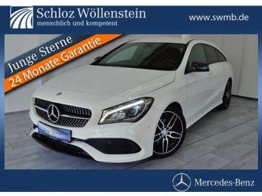 NOUVEAU +++ Mercedes-Benz Voiture d'occasion: Mercedes-Benz CLA SB AMG Night-Pkt/Navi/LED-Licht/Totwink für 31469 € +++ Les meilleures offres   Berline, 3500 km, 2016, Essence, 122 CV, Blanc   138250514   auto.de