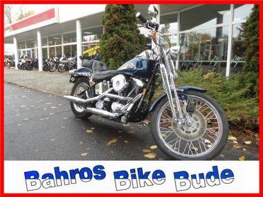 NOUVEAU +++ Harley-Davidson Voiture d'occasion: Harley-Davidson Harley-Davidson SPRINGER FXSTS für 11590 € +++ Les meilleures offres | Chopper, 37824 km, 1998, Autres, 61 CV, Bleu | 138143835 | auto.de