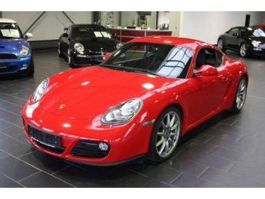 NOUVEAU +++ Porsche Voiture d'occasion: Porsche Cayman Navi Leder PDC hinten Sitzhzg für 36900 € +++ Les meilleures offres | Coupé, 62000 km, 2011, Essence, 265 CV, Rouge | 138337822 | auto.de
