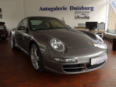 NOUVEAU +++ Porsche Voiture d'occasion: Porsche Carrera 997 911  4 Coupe Autom. Finanzierung für 46750 € +++ Les meilleures offres | Coupé, 81600 km, 2007, Essence, 325 CV, Gris | 135896754 | auto.de