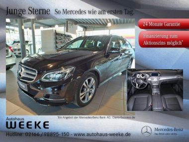 NOUVEAU +++ Mercedes-Benz Voiture d'occasion: Mercedes-Benz E 200 T BlueTec Avantgarde Schiebedach,LED,Nav für 32689 € +++ Les meilleures offres | Break, 19980 km, 2015, Diesel, 136 CV, Noir | 134883809 | auto.de