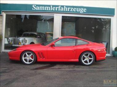 NOUVEAU +++ Ferrari Voiture d'occasion: Ferrari 550 Maranello offene Schaltkulisse für 185000 € +++ Les meilleures offres   Coupé, 47650 km, 1996, Essence, 485 CV, Autre   137871299   auto.de