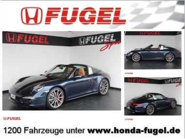 NOUVEAU +++ Porsche Voiture d'occasion: Porsche 911 (991) Targa 4 S PDK Xenon/Navi/Volleder für 118999 € +++ Les meilleures offres | Coupé, 13900 km, 2014, Essence, 400 CV, Bleu | 137099147 | auto.de