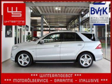 NOUVEAU +++ Mercedes-Benz Voiture d'occasion: Mercedes-Benz ML 230 ML 250 BlueTEC 4M AMG Aut Navi Panorama  für 37970 € +++ Les meilleures offres   4x4, 77250 km, 2011, Diesel, 204 CV, Argent   135592073   auto.de