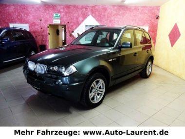 NOUVEAU +++ BMW Voiture d'occasion: BMW X3 2.0d -AHK- Navi- Xenon- Shz.- PDC- 120¤ für 9490 € +++ Les meilleures offres | Berline, 173000 km, 2004, Diesel, 150 CV, Vert | 138570798 | auto.de