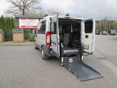 NOUVEAU +++ Fiat Véhicule pour handicapés: Fiat Ducato Hecklift Beifahrerrollstuhlplatz Rückfa für 24990 € +++ Les meilleures offres | Break, 5450 km, 2014, Diesel, 116 CV, Argent | 134291959 | auto.de