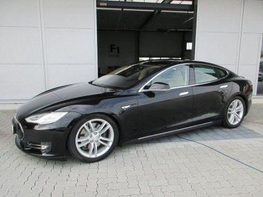 NOUVEAU +++ Tesla Voiture d'occasion: Tesla Model S P85+ Tech u.Sound Paket 7-Sitze D-Lader  für 81900 € +++ Les meilleures offres | Berline, 51000 km, 2014, Électrique, 421 CV, Noir | 132395320 | auto.de