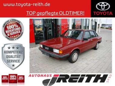 NOUVEAU +++ Audi Véhicule ancien: Audi 80 B2 für 12230 € +++ Les meilleures offres | Berline, 104958 km, 1984, Essence, 75 CV, Rouge | 137195141 | auto.de