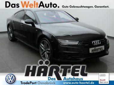 NOUVEAU +++ Audi Voiture d'occasion: Audi A7 Sportback S Line Quattro 3.0 V6 TFSI (Na für 62370 € +++ Les meilleures offres | Berline, 5800 km, 2015, Essence, 333 CV, Noir | 135976007 | auto.de