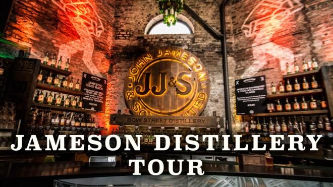 Jameson Distillery Tour Lobby