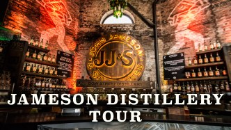 Jameson Distillery Tour Lobby