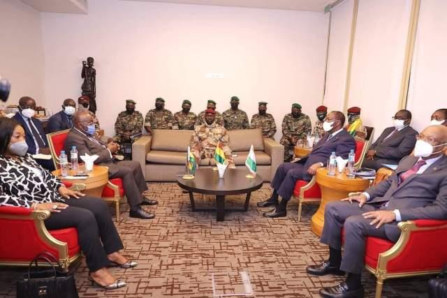 Guinée: une délégation de chefs d'État de la Cédéao à Conakry