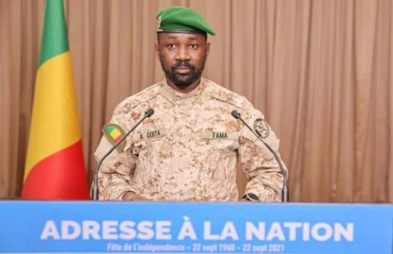 Adresse à la Nation du Président de la Transition, Chef de l'Etat, le Colonel Assimi Goïta à l'occasion du 61 ème anniversaire du 22 septembre 2021.