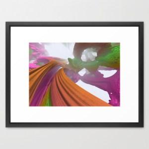 """""""Mandarin Overpass"""" - Matthew Haggett - Framed Art Print"""