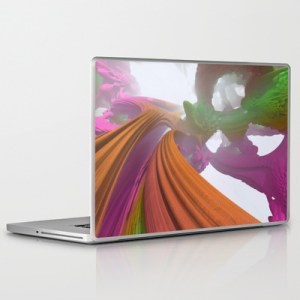 """Mandarin Overpass"" - Matthew Haggett - Laptop Skin"