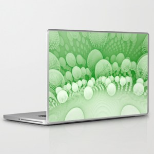 """Sub Orbit"" - Mandelbulb Art - Matthew Haggett - Laptop Skin"