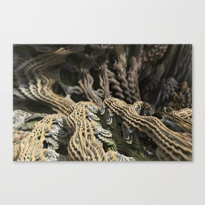 """Cascade Advance"" - Matthew Haggett - Museum Wrap Stretched Canvas"