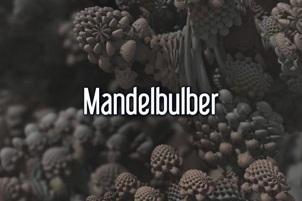 Mandelbulber software, 3D fractal generating software