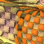 """""""Check Mix"""" 3D Fractal Art, by Matthew Haggett, 2012"""