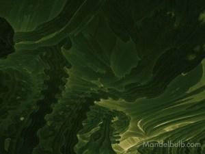 """""""Kelp Forest"""" 3D Fractal Art, By Matthew Haggett, 2012"""