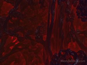 """""""Magmatic Tendril"""" 3D Fractal Art, By Matthew Haggett, 2012"""