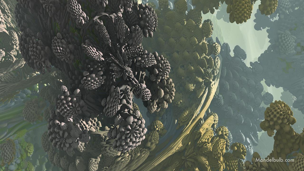 """""""Raphaelite"""" 3D Fractal Art, By Matthew Haggett 2012"""