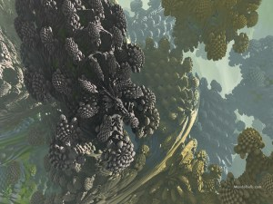 """""""Raphaelite"""" 3D Fractal Art, By Matthew Haggett, 2012"""