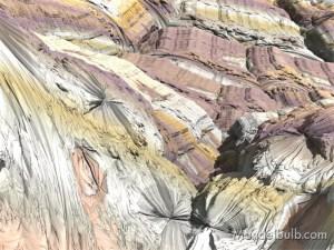 """Jundland Vortex II"" 3D Fractal Art, By Matthew Haggett, 2012"