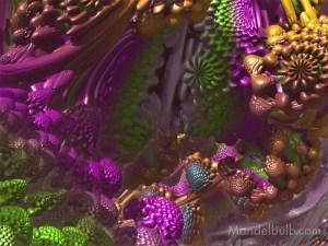 """""""Unobtanium II"""" 3D Fractal Art, By Matthew Haggett, 2012"""
