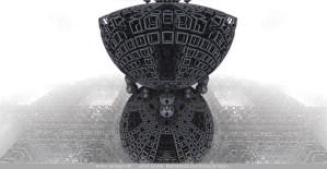 Defender of the Light, 3D fractal art by Ricky Jarnagin/DsyneGrafix (c)