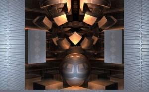 Museum Display, 3D fractal art by Ricky Jarnagin/DsyneGrafix (c)