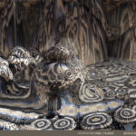 """Alien Spaceship"" by Marc Vanlindt. 3D fractal art created with Mandelbulb 3D."
