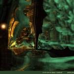 """Green"" by Marc Vanlindt. 3D fractal art created with Mandelbulb 3D."