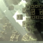 """Holy Ruins"" by Marc Vanlindt. 3D fractal art created with Mandelbulb 3D."