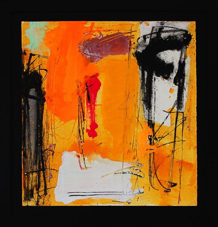 Enzo Esposito, Senza titolo, Tecnica mista su cartone, 80,5x76, 2012