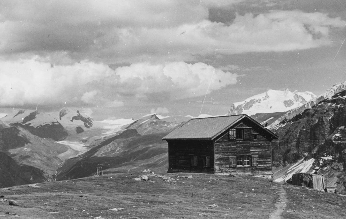 Mont Rose et la cabane Schönbuhl