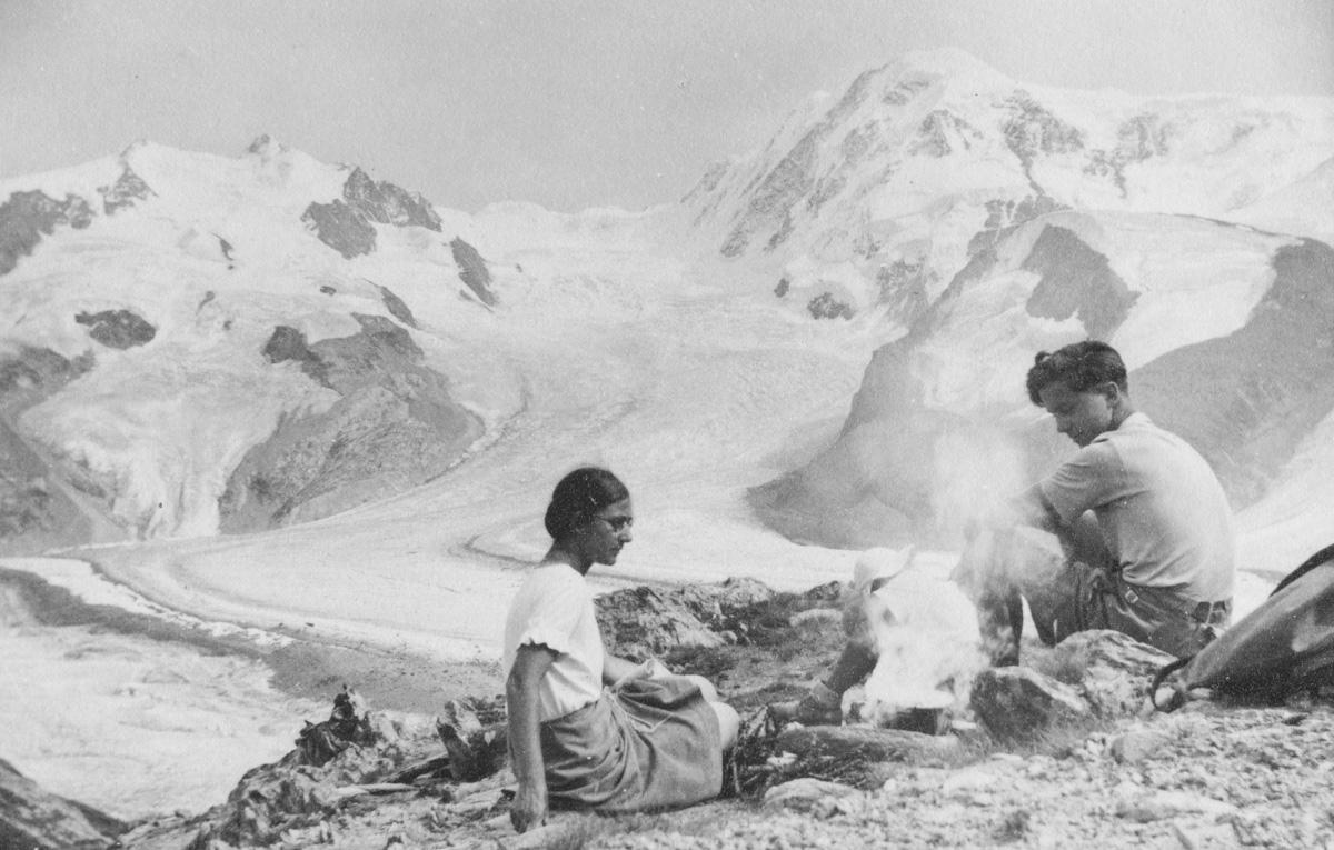 Mont Rose, Lyskamm et glacier de Grenz