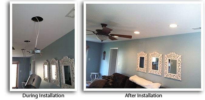 recessed lights electrician langhorne pa