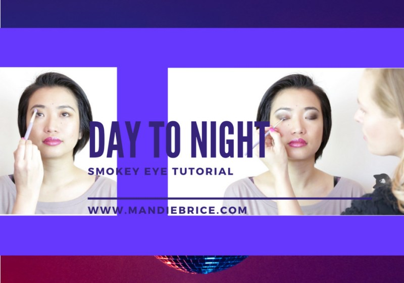 day to night smokey eye tutorial