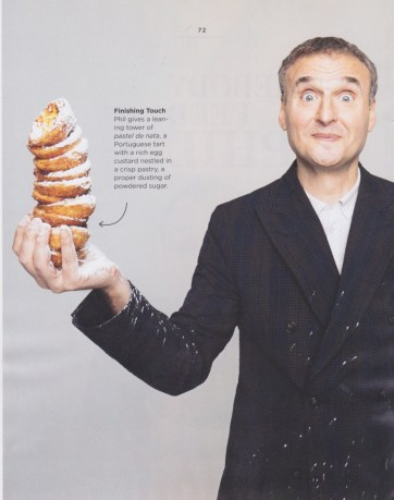 Grooming on Phil Rosenthal for Cadillac Magazine.